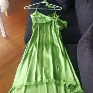 Beautiful flowy green dress